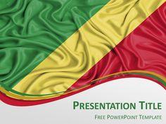 Ukraine flag powerpoint template presentationgo template and congo flag powerpoint template presentationgo toneelgroepblik Images
