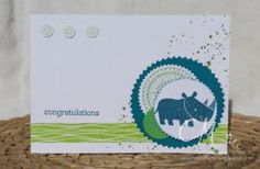 Baby, Zoo Babies, Stampin' Up!