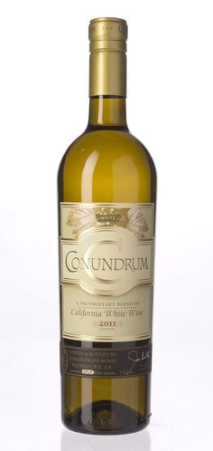 Conundrum White Wine by Caymus-Dinner guests are arriving at any time | spiritedgifts.com