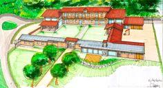 - Drawing Hotels, Boutique, Taj Mahal, Golf, Drawings, Building, Travel, Greek Islands, Money Plant