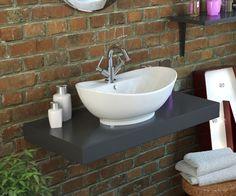 Wonderful Cloakroom Sink U0026 Floating Shelf £297 From Bathrooms.com