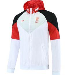 Liverpool 21/22 White Hoodie Windbreaker – zorrojersey Of Brand, White Hoodie, Liverpool, Motorcycle Jacket, Windbreaker, 21st, Hoodies, Nike, Model
