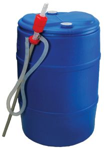 Water Barrel Care - cleaning & filling