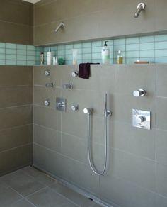 Nicchia per prodotti doccia