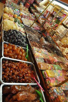 Dulces en el Mercado de Coyoacán, Ciudad de México