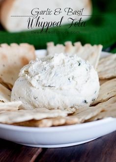 Garlic & Basil Whipped Feta