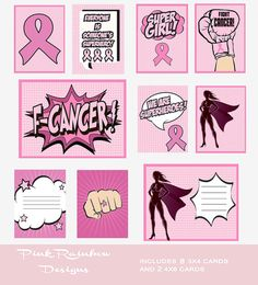 Set of 3 Under Armour Breast Cancer Pink Ribbon Car//Window Decals Stickers