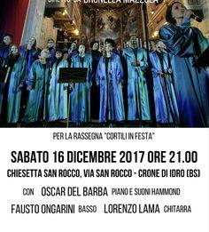 """""""Cortili in festa 2017"""" sabato a Crone di Idro"""