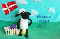 Jeg ved at der er flere, der bliver glade for at få fingrene i denne opskrift, blandt andet Irene Johansen  Frode Får opskriften er lavet afAbigail fra Chanteuse Crochet, der også har givet mig ti…