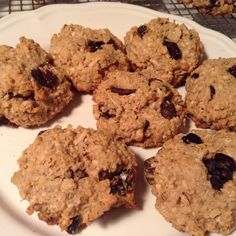 Vegan Lemon Cranberry Oatmeal Cookies