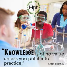 Knowledge will bring you the opportunity to make a difference.  #Knowledge #Opportunities #AptTutoring