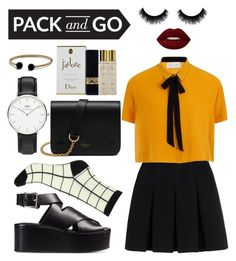 """""""Untitled #8"""" by cidorell ❤ liked on Polyvore featuring Alexander Wang, Elvi, Lime Crime, Daniel Wellington, Mulberry, Christian Dior, David Yurman, tokyo and Packandgo"""