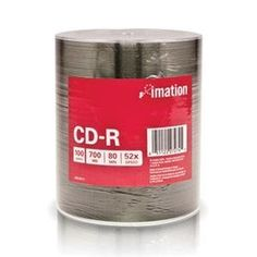 Imation 27274 Disc Cd-r 80 Min 700 Mb 52x 100/pk Bulk by Imation. $27.45. Imation cd-r discs 100 pack bulk shrink wrapped 52x standard - 700 mb silver (taiwan).