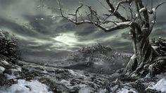 mattpainting-neige