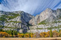 5 of the Best Fall Foliage Drives Near Northern California: Yosemite National Park