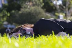 Just relaxing on the grass and enjoying the beautiful sunny day - David's Class Rule Of Thirds, Just Relax, Sunny Days, Sunnies, Grass, Beautiful, Sunglasses, Grasses, Eyewear