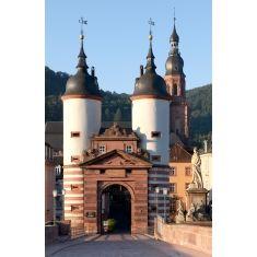 Karl-Theodor-Brücke, Alte Brücke, Heidelberg, Fototapete Merian, Fotograf: T. Langlotz