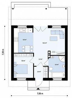 Casa pequena de 1 quarto ☆★