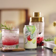 Rosemary Blueberry Smarh from 7UP: A slightly sweet mocktail with just the right hint of aromatic rosemary makes it a bright, refreshing drink.