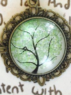 Inspirational tree of life pendant by AlfredandElla on Etsy