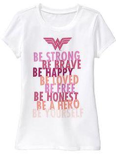 Woman T-shirts wonder woman t shirt old navy