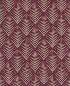 Love this one. The design gives it dimension. Soprano: Raspberry wallpaper Graham & Brown