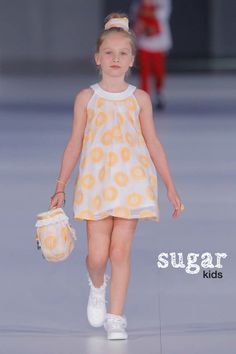 Aina de Sugar Kids para pasarela 080 Barcelona fashion