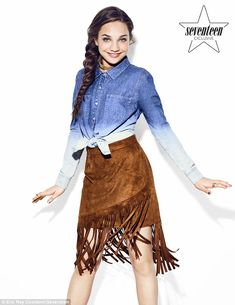 Maddie Ziegler covers the new issue of Seventeen and talks Dance Moms