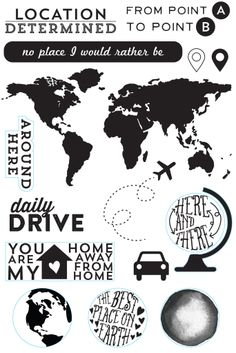 Scraptastic Club's Let Me Go Stamp Set