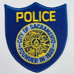 Sacramento City, Sacramento California, California Ca, Patches For Sale, Police Patches, Porsche Logo, Nice Tops, Caps Hats, Royal Blue