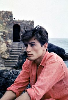 Alain Delon displays downtown cool.