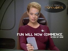 "Seven of Nine ""Star Trek - Raumschiff Voyager: Ashes to Ashes (#6.18)"" (2000)"
