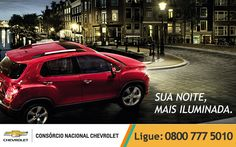 Sua noite sempre será a mais iluminada a bordo do seu #Chevrolet. Tenha o seu: www.consorciodeauto.com.br