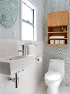 20 Small Bathroom Design Ideas | Bathroom Ideas \u0026 Designs | HGTV : small-bathroom-interior-design - designwebi.com