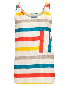wow,a striped shirt with all the colors