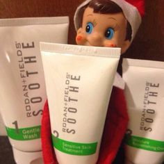 On the first day of Christmas...do you have a red nose like Rudolph or sensitive skin and it feels like Jack Frost is doing more than nipping at your nose? Our Soothe regimen can come to the rescue!!  https://joyguinn.myrandf.com/Shop/Soothe