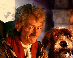 One of his lesser known roles, but the one I remember most fondly. #JohnHurt #TheStoryteller #JimHenson #RIPJohnHurt