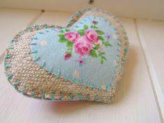 Linen floral Brooch | Flickr - Photo Sharing!