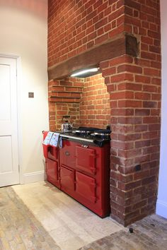 1000 images about kitchen reno on pinterest range for Tiled chimney breast images