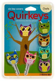 Apt Owl Key Caps.  By Modcloth  $6