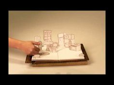 Méli Mélo - Analoge Papercut Stop Motion Animation - YouTube