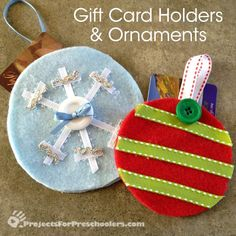 nice Handmade Gift Ideas for Gift Cards