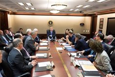 The South Central Bulldog: President Trump Receives a Briefing on Hurricane M...
