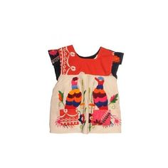 Lola And James South American Embroidered Top