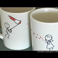 Catch My Love His and Her Coffee Mugs-BolfLoft offers novelty coffee mugs for couples. For those time you want to be reminded for your love, BoldLoft his and her wedding coffee mugs are the ideal and unique gifts for him, her, couples, boyfriend, girlfriend, husband, and wife plus anniversary, wedding, Valentine, and engagement.