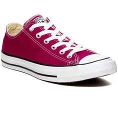 Converse CT OX Sneaker (Unisex) (135 PEN) ❤ liked on Polyvore featuring shoes, sneakers, pink sapphire, converse shoes, stripe shoes, striped shoes, unisex shoes and lace up sneakers
