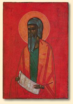 Jerzy Nowosielski | Saint Theodore. Icon, 1961 | tempera on woodboard