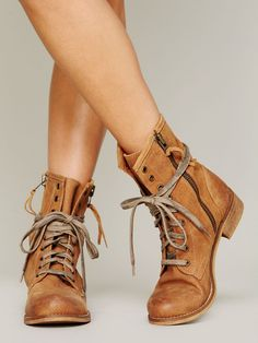 SixtySeven Greyson Lace Up Boot http://www.freepeople.com/whats-new/greyson-lace-up-boot/_/productOptionIDS/3EAEB383-8755-414F-9834-D356F32B8065/