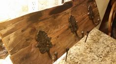 Reclaimed wood coat rack by TraywickDesigns on Etsy