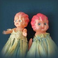 Two Delightful Carnival Kewpies - Japan - Bella May Dolls #dollshopsunited